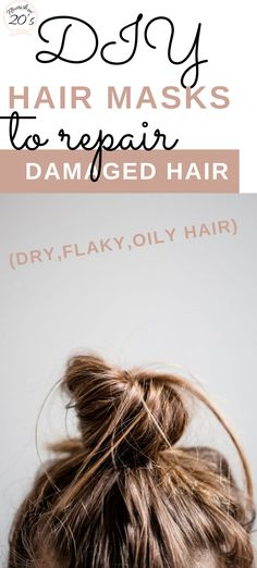DIY Hair Masks to Repair Damaged Hair (Dry, Flaky, Oily Hair) Having to deal with damaged, dry or frizzy hair can be quite stressful. Here are a few DIY hair masks to combat different hair issues. mask for damaged hair Hair Masks For Dry Damaged Hair, Damaged Hair Repair, Oily Hair, Frizzy Hair, Hair Color Brush, Best Diy Hair Mask, Dry Hair Treatment, Lemon Hair, Homemade Hair Treatments