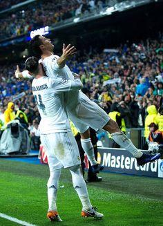 ..._Sergio Ramos & Cristiano Ronaldo - Real Madrid. #CR7 #RMUCL
