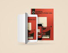 "Check out new work on my @Behance portfolio: ""Polish music magazine ""Gazeta Magnetofonowa"""" http://be.net/gallery/44047069/Polish-music-magazine-Gazeta-Magnetofonowa"
