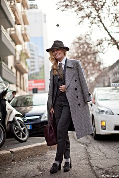 Suit for Women Milan Fashion Week Tuxedo love