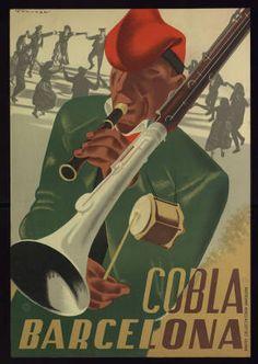 Cobla Barcelona :: Cartells (Biblioteca de Catalunya)