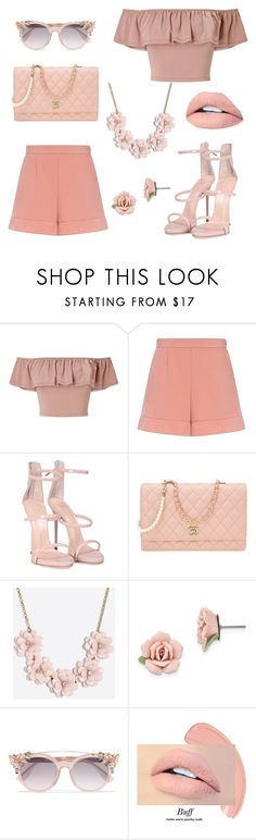 """""""shoppingday 👑👜💲"""" by annaanii ❤ liked on Polyvore featuring Miss Selfridge, RED Valentino, Giuseppe Zanotti, Chanel, J.Crew, 1928 and Jimmy Choo"""