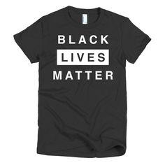 Women's Black Lives Matter Shirt