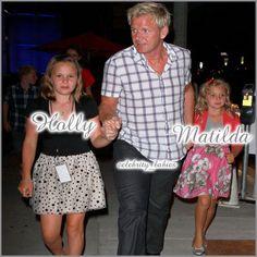 Gordon Ramsay, Holly & Matilda - celebrity_babies