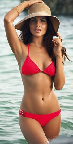 red bikini #summer