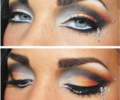 Tiger eye makeup | Makeup | Pinterest | Make up