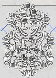 "Photo from album ""Брюггское кружево"" on Yandex. Filet Crochet, Crochet Diagram, Crochet Chart, Thread Crochet, Crochet Motif, Crochet Lace, Crochet Stitches, Crochet Patterns, Russian Crochet"