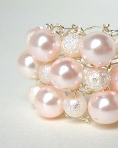 Pink Pearl Cocktail Ring