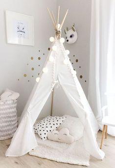 DIY: Ikea Hack Teepee Tent for Cute Pastel Girl Nursery - Simple and . , DIY: Ikea Hack Teepee Tent for Cute Pastel Girl Nursery - Simple and . Baby Bedroom, Baby Room Decor, Nursery Room, Girl Nursery, Girls Bedroom, Ikea Nursery, Nursery Furniture, Nursery Ideas, Room Baby