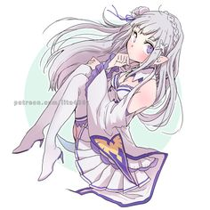Emilia / Re:ゼロから始める異世界生活 ( Requested by Nope-san) | Tachibana Lita on Patreon