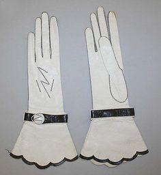 Art Deco Gloves - 1925-35 - by Alexandrine (French) @Deidré Wallace
