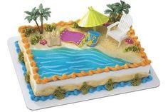 Shell Beach Wedding Cake Design Patterns