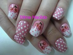 cherry #nail #nails #nailart