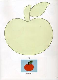 Apple appliqué pattern