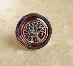 My inner hippie is jumping up and down - Drawer Pull Wine  Cabinet Knob  Cabinet Pull  by NatureWithYou, $10.00