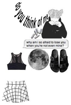 """""""Are you mine ?"""" by grumpy-hellcat ❤ liked on Polyvore featuring T By Alexander Wang, Monki and American Rag Cie"""