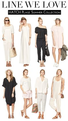 Line We Love: HATCH Plage Summer Collection
