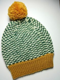 The Shining Hat Hand Knit Wool Slouch Hat by StitchBoomBang
