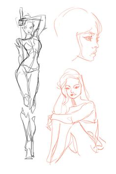 ArtStation - Sketchdump 2, Ahmed Aldoori
