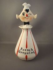 1959 HOLT HOWARD Pixieware French Dressing Bottle w/ Spout