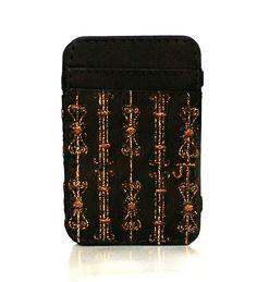 JT Magic Wallet Imperial Color: Brown #couro #bordado #fashion #accessories #moda #style #design #acessorios #leather #joicetanabe #carteira #carteiramagica #courolegitimo #wallet