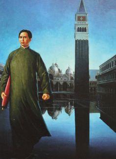 Erró, Mao à San Marco, 1975