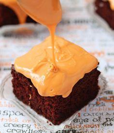 Favorite #Fall #Desserts: #Pumpkin #Chocolate #Cake