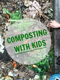 5 tips for teaching kiddos how to compost! Composting is fun, easy and a great way to reduce your carbon footprint :) EarthboundFarm ad