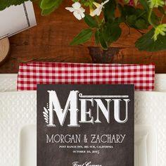 Customize your menus