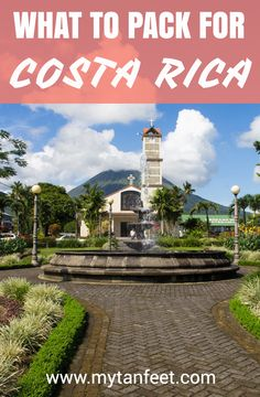 Packing tips for Costa Rica http://mytanfeet.com/about-cr/packing-for-costa-rica-what-to-bring/