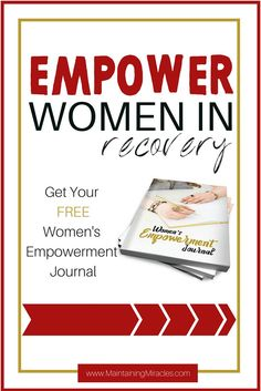 Are you a woman in recovery?  Be inspired and empowered.  You are a success, you have already beat your addiction.  Now, it's time to acheive all of your hopes and dreams.  Plus, get a free printable Women's Enpowerment Journal.  You will love it, I sure do!