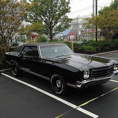 these Monte SS are hard to find that are not modified, this is a survivor with original paint and very low miles. Chevrolet Monte Carlo, Detroit Steel, Nascar Race Cars, Chevy Muscle Cars, American Classic Cars, Old School Cars, Hot Cars, Custom Cars, Dream Cars