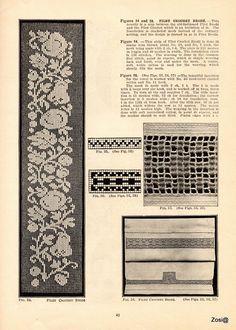 Priscilla Filet Crochet Book No 2. Edited by Mrs. F.W. Kettelle, Augusta, Maine, 1925 - Zosia - Веб-альбомы Picasa