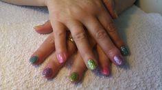 Easter gel nails