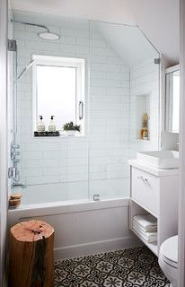 Before And After 9 Small Bathroom Transformations That Wow Small Bathroom Remodel Bathrooms Remodel Small Bathroom