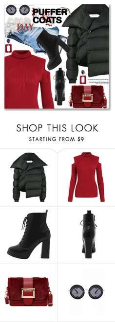 """Stay Warm: Puffer Coats (Street Chic)"" by jecakns ❤ liked on Polyvore featuring Marques'Almeida"