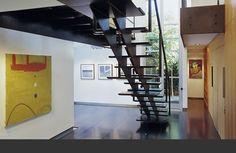 Steel Floors - Luce et Studio : Burton Residence