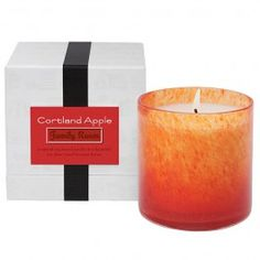 LAFCO Family Room - Cortland Apple - Candle is a sweet combination of Cortland and McIntosh apples mingled with bits of green walnuts and fresh dew-kissed leaves. A bright and dazzling scent, like a bite from a perfectly ripe apple just picked from the tree on a crisp autumn day.  The LAFCO House and Home Candle Collection is specifically designed to create an elegant atmosphere and compliment the ambiance and decor of each room in your home. Poured into an oversized, colored, hand-blown…