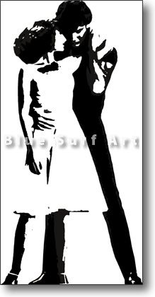 But I always do the last dance of the season (black-white) - £84.99 : Canvas Art, Oil Painting Reproduction, Art Commission, Pop Art, Canvas Painting