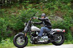 Fat Tired #Harley Bobber