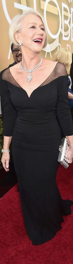 Helen Mirren - Golden Globes 2016