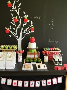 Party Planning 101- Dessert Tables