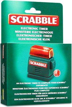 Licznik czasu dla graczy Scrabble i nie tylko!. Scrabble - gra, która od wielu dziesięcioleci znajduje się w górnej części rankingu najpopularniejszych gier planszowych na świecie.      Niektóre rozgrywki jednak chcielibyśmy, aby odbywały się w wyznaczonym przez nas czasie. Możemy posłużyć się zegarkiem, ale nic nie zastąpi oryginalnego i profesjonalnego oficjalnego elektronicznego licznika do gry Scrabble. Można go...