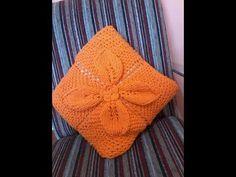 Square de folha de tricô PARTE 3 Costurando - YouTube