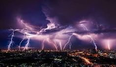 Ever wonder why lightning strikes? From thunderstorms to bomb cyclones, Stacker shares answers to 51 weather questions. Blockchain, Tornados, Thunderstorms, Lightning Strikes, Lightning Bolt, Lightning Storms, Lightning Photos, Thunderbolt And Lightning, Thunderstorm Asthma