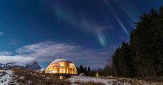 Une famille norvégienne a choisi un mode de vie inhabituel pour se sentir plus proche de l'environnement.