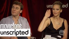 "Jennifer Lawrence LOVES Pizza | Unscripted | Moviefone so funny. ""WHERE'S THE PIZZA!"" lol & ""yoga breathing, yoga breathing."""