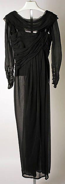 Evening dress YSL fall/winter 1989–90