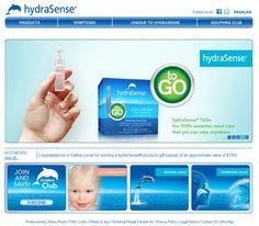 hydraSense Website Design