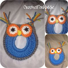 Crochet Camera Lens Buddy Owl on Etsy, $12.00. Inspiration. Maybe just make coasters.